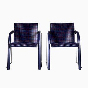 Stühle von Wolf Schneider für Thonet, 1984, 2er Set