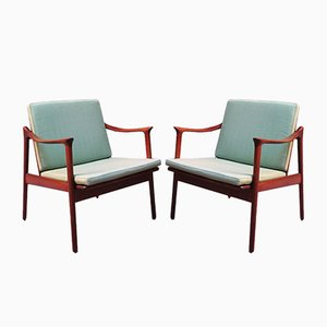 Armchairs by Fredrick Kaiser for Vatne Møbler Norway, 1960s, Set of 2