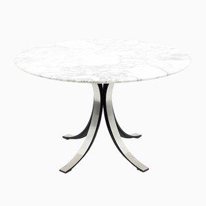 Tavolo da pranzo Mid-Century in marmo di Osvaldo Borsani per Tecno, Italia