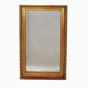 Early Biedermeier Gilt Wooden Wall Mirror, 1820s