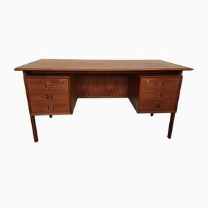 Teak Schreibtisch von Arne Vodder für Sibast, 1960er