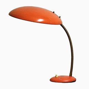 Orange Bauhaus Tischlampe von Philips, 1960er