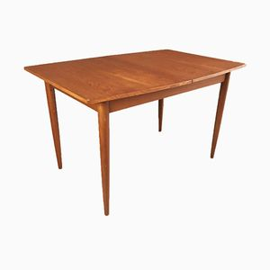 Mid-Century British Teak Extendable Dining Table, 1970s
