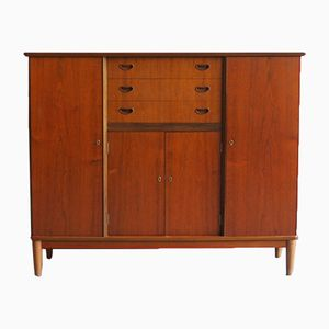 Danish Teak Veneered Sideboard, 1960s