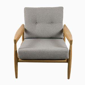 Kolding Armchair in Oak by Erik Wørts, 1960s