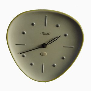 Ceramic Wall Clock by Wilhelm Kienzle, 1950s
