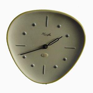 Orologio da parete in ceramica di Wilhelm Kienzle, anni '50