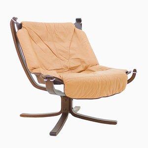 Vintage Falcon Stuhl von Sigurd Ressell für Vatne Mobler