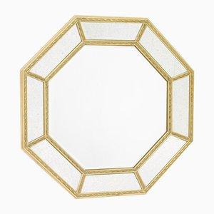 Oktogonaler Facettierter Spiegel, 1960er