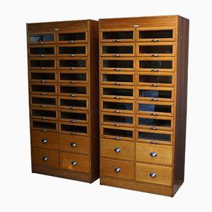 Oak Haberdashery Cabinet, 1930s