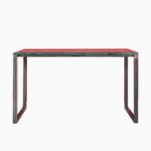 ENNO Serpentinite & Stainless Steel Table by Johanenlies, 2017