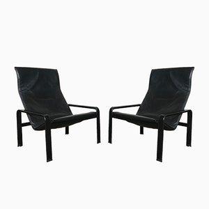 Vintage Golfo Dei Poeti Stühle von Jacques Toussaint & Patrizia Angeloni für Matteo Grassi, 2er Set