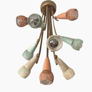 Lampada da soffitto Sputnik Atomic Mid-Century moderna, anni '50