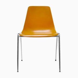 Fiberglas Stühle von Georg Leowald für Wilkhahn, 1950er, 4er Set