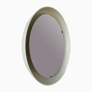 Mid-Century Luminated Mirror by Arne Jacobssen for Louis Poulsen