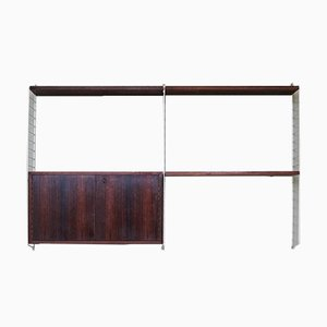 Rosewood Shelving Unit by Kajsa & Nils Strinning for String, 1960s