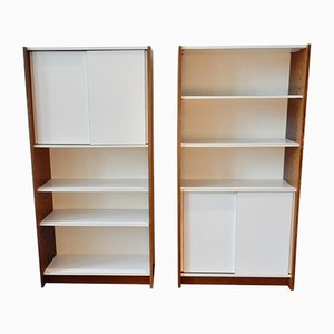 Borculo Series Shelving Unit by Martin Visser for 't Spectrum, 1960s, Set of 2