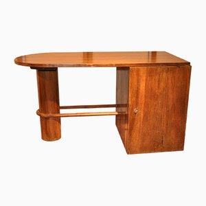 Vintage French Walnut Desk