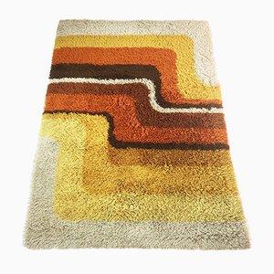 Bunter Vintage Pop Art Teppich von Desso, 1970er
