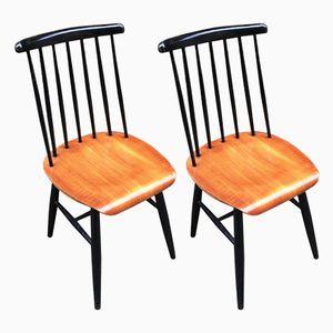 Vintage Stühle von Ilmari Tapiovaara, 2er Set