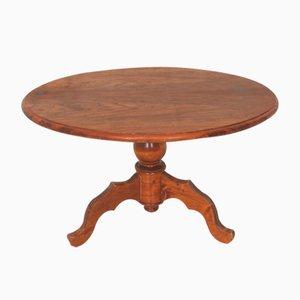 Tavolino da caffè antico marrone