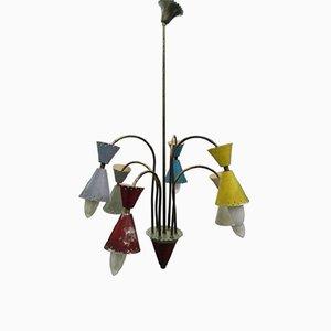 Kronleuchter mit 6 Leuchten von Stilnovo, 1950er