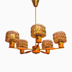 Mid-Century Swedish Pendant Lamp, 1960s