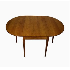 Mid-Century Drop Leaf Table by Frits Henningsen