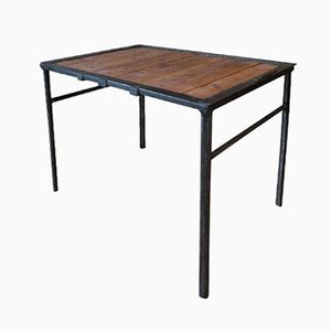 Mid-Century Industrial Table