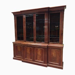 Victorian Antique Display Cabinet in Mahogany