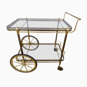 Vintage French Serving Trolley & Bar, 1960s