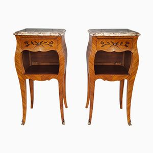 French Nightstands, 1920s, Set of 2