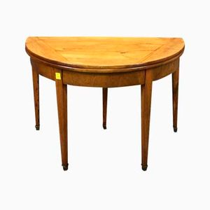 Tavolo antico a mezzaluna