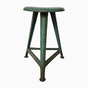 Vintage Industrial Stool from Rowac