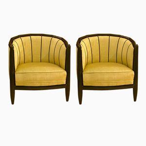 Art Deco Armchairs, Set of 2