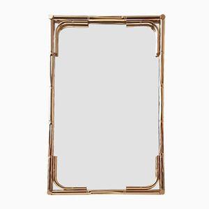 Großer Messing Spiegel, 1970er