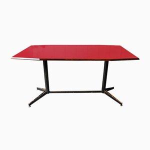Tavolo Mid-Century rosso
