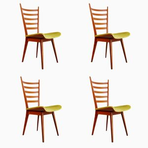 Vintage Dutch Dining Chairs by Cees Braakman for Pastoe, Set of 4