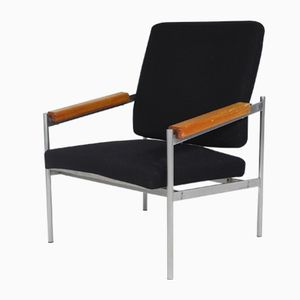 Vintage Danish Lounge Chair by Kay Bæch Hansen for Fritz Hansen, 1976