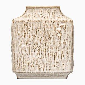 Vintage Rectangular Relief Vase by Friedegard Glatzle for Karlsruhe