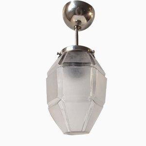 Lampada a sospensione Art Deco, anni '40