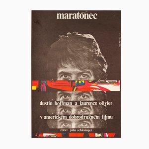 Der Marathon-Mann Filmposter von Milan Grygar, 1977