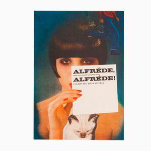 Alfredo, Alfredo Filmposter von Karel Vaca, 1974