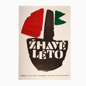 Poster del film Hot Summer di Jaroslav Sůra, 1968
