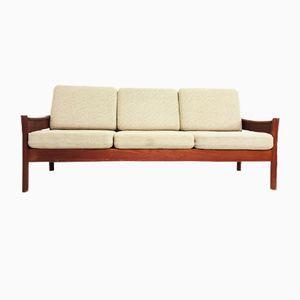 Teak 3-Seater Sofa from Dyrlund, 1970s