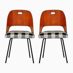Mid-Century Italian Dining Chairs, 1950s, Set of 2