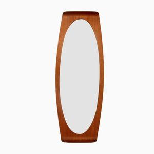 Vintage Mirror with a Curved Frame by Carlo & Graffi for Home