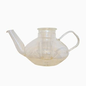 Vintage Tea Pot in Glass by Heinrich Löffelhardt for Schott