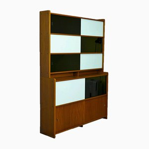 Wall Unit with Sliding Doors, 1960s