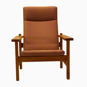 Mid-Century Easy Chair by Hans J. Wegner for Getama